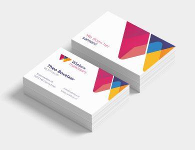 product visitekaartjes