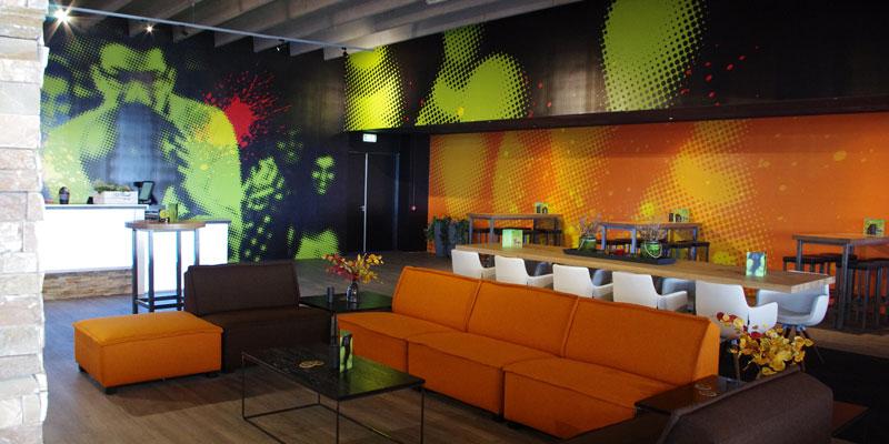 indoor visuals groot formaat